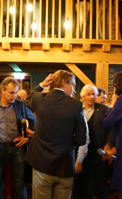Mark Harbers en Christophe van der Maat