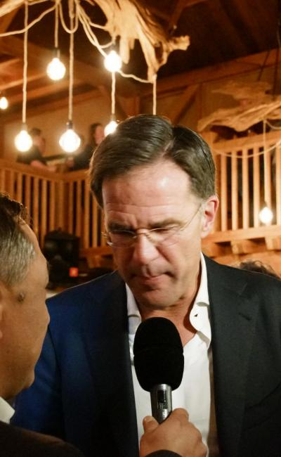Interview Mark Rutte