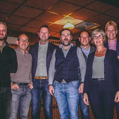 Fractie van de Deurnese VVD met Klaas Dijkhoff