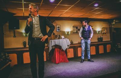 Onno Hoes en Klaas Dijkhoff in Deurne